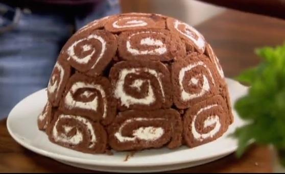 Swiss Roll Ice Cream Cake Lorraine Pascale Recipe