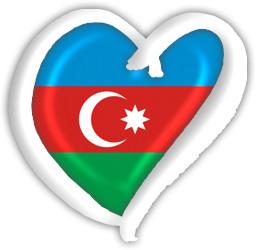 Azerbaijan eurovision heart