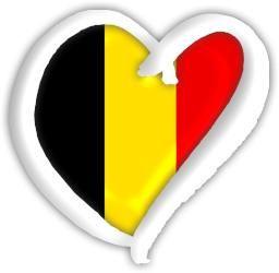 Belgium Eurovision heart