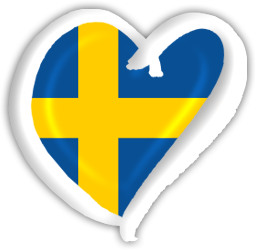 Sweden Eurovision Heart