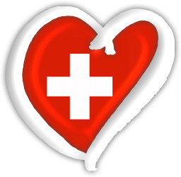 Switzerland Eurovision Heart