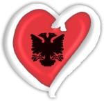 Albania Eurovision Heart