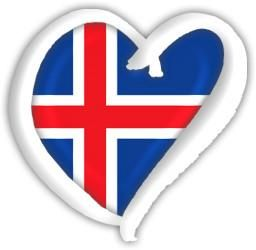 Iceland Eurovision Heart