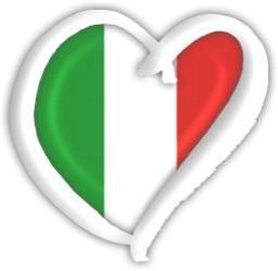 Italy Eurovison heart