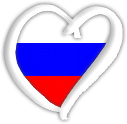 Russia Eurovision heart