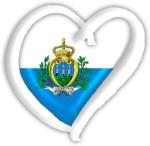 San Marino Eurovision Heart