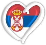 Serbia Eurovision heart