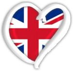United Kingdom eurovision heart