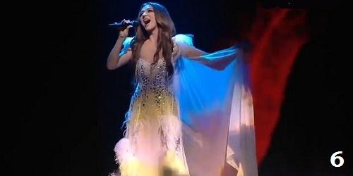 Sabina Babayeva When the music dies azerbaijan eurovision 2012