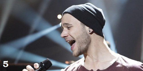 Roman Lob Germany Standing Still Eurovision 2012