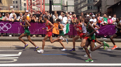 London 2012 Men's marathon Olympics