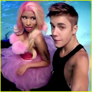 justin bieber nicki minaj beauty and a beat
