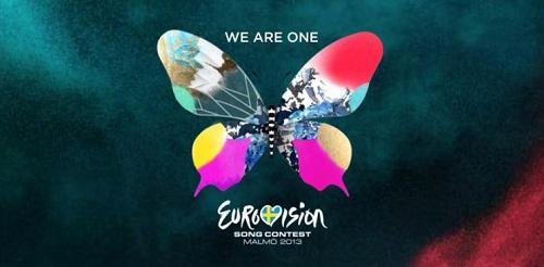 Eurovision 2013 Malmö butterfly banner slogan
