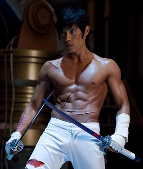 byung-hun lee shirtless