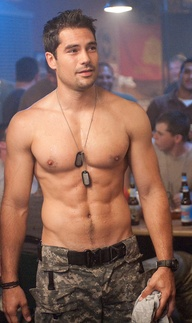 dj cotrona shirtless