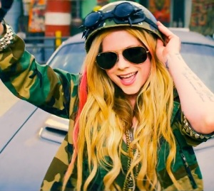 avril rock n roll