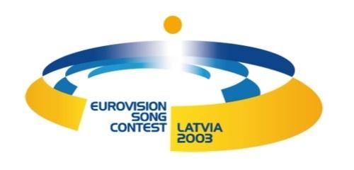 Eurovision 2003 Latvia Riga logo