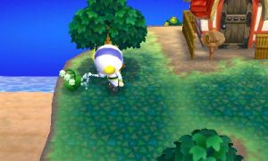 Animal Crossing: New Leaf - Ladder to success