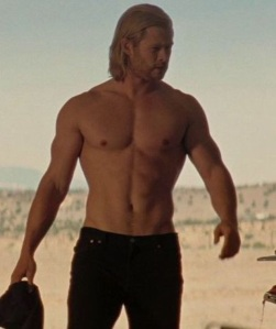 thor shirtless