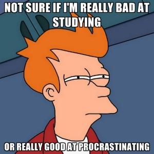 bad at studying